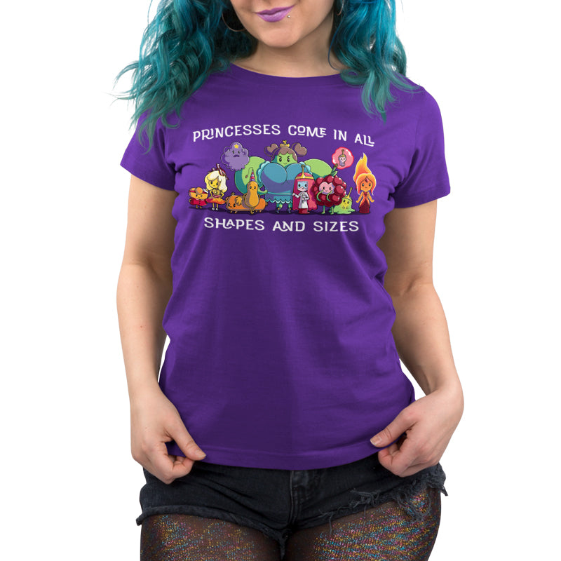 Princesses Come in All Shapes and Sizes Women's Relaxed Fit T-Shirt Model Adventure Time TeeTurtle