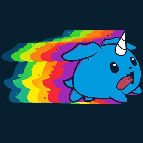 Psychedelic Puppicorn Shirt t-shirt TeeTurtle