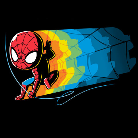 Psychedelic Spider-Man T-Shirt Marvel TeeTurtle