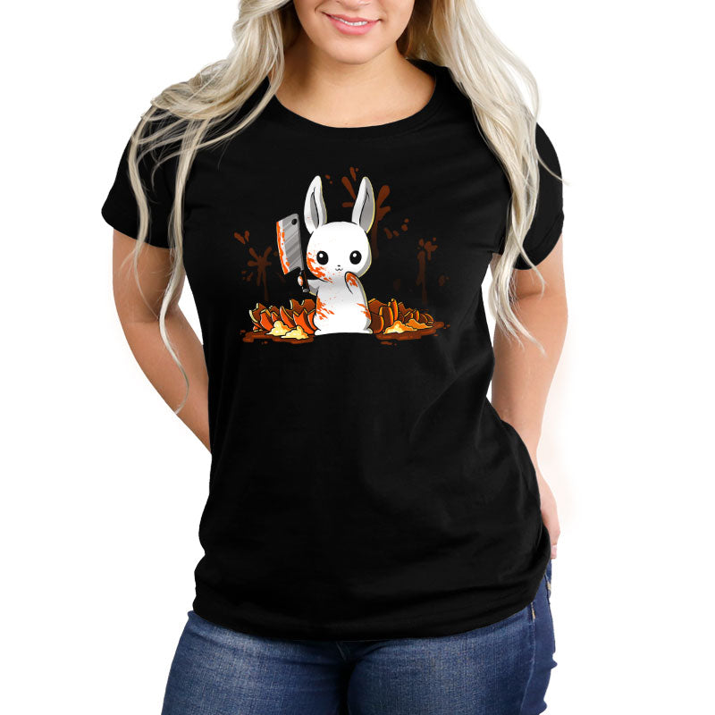 Pumpkin Slaughter Women's Relaxed Fit T-Shirt Model TeeTurtle