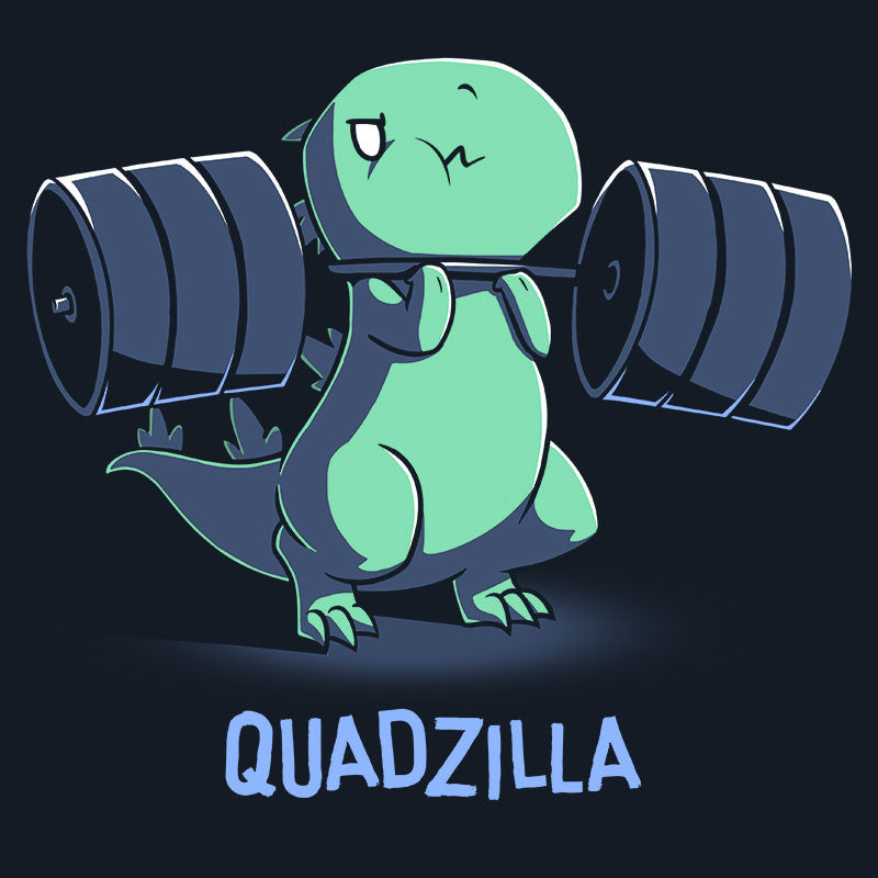 Quadzilla t-shirt TeeTurtle