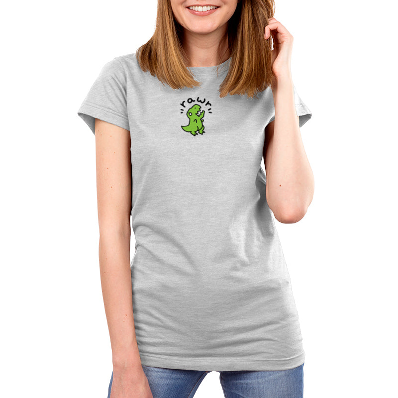 Rawr Women's T-Shirt Model TeeTurtle