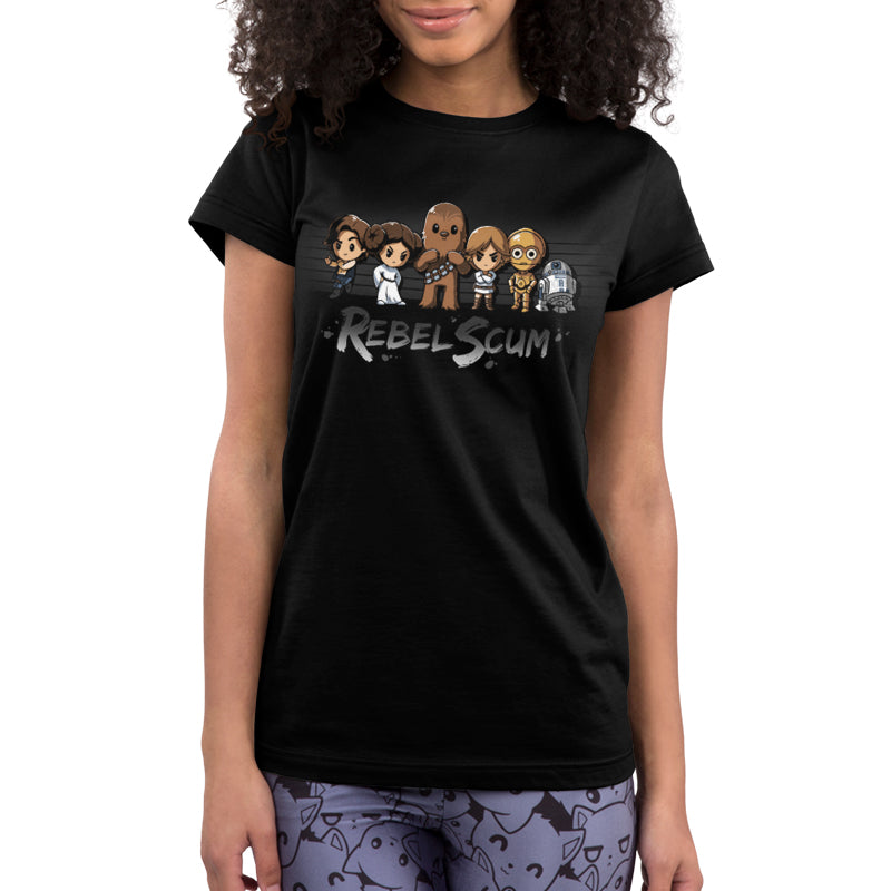 Rebel Scum Juniors T-Shirt Model Star Wars TeeTurtle