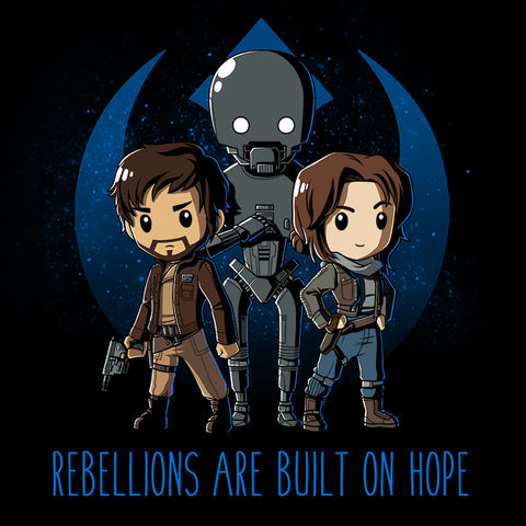 Rebellions are Built on Hope t-shirt Star Wars TeeTurtle