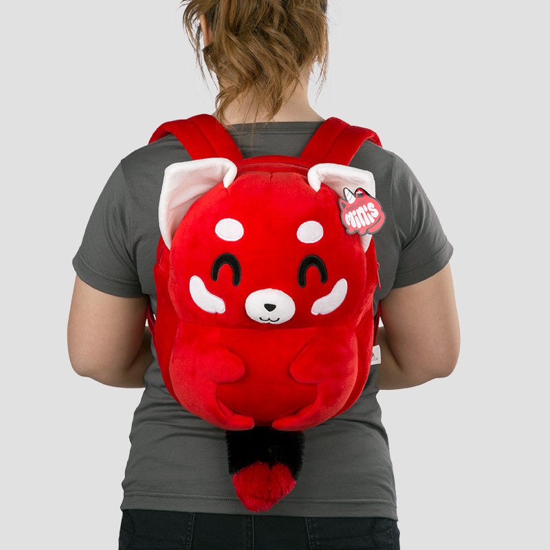 Red Panda Backpack Plushie Model TeeTurtle Minis