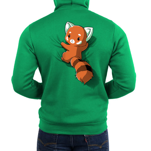 Red Panda On Your Back Hoodie