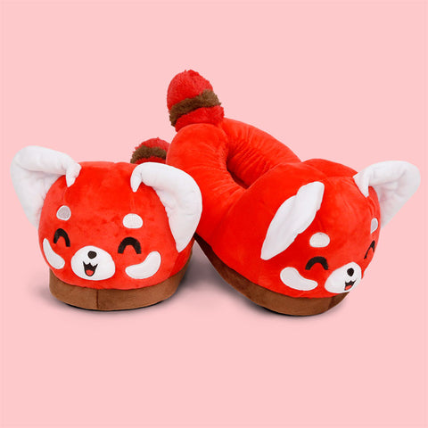 Red Panda Slippers TeeTurtle