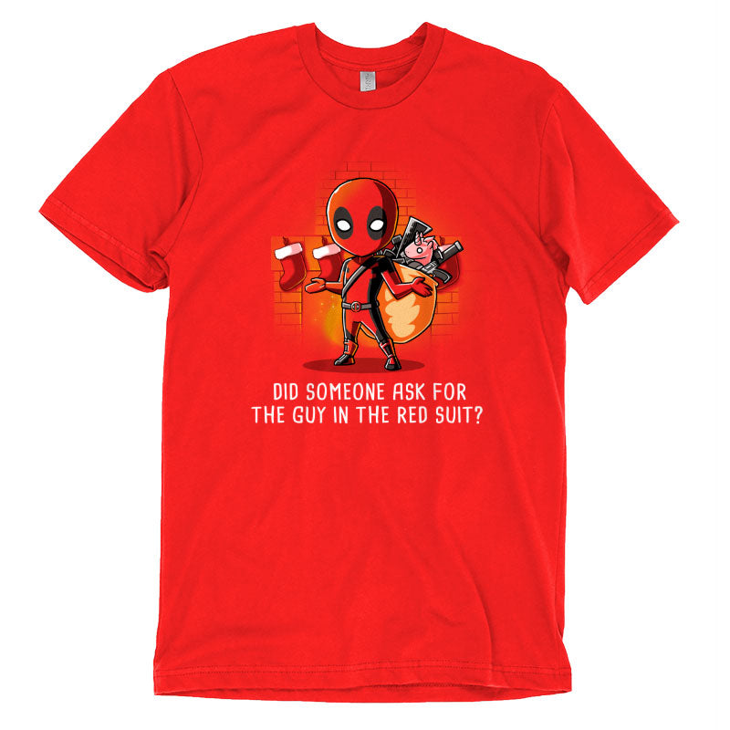 The Guy in the Red Suit T-Shirt Marvel TeeTurtle