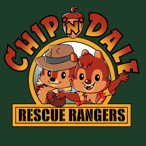 Chip 'n Dale Rescue Rangers T-Shirt Disney TeeTurtle