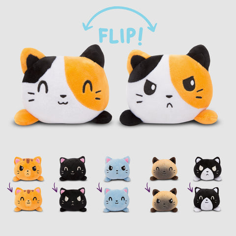 Reversible Cat Mini Plushies TeeTurtle Minis