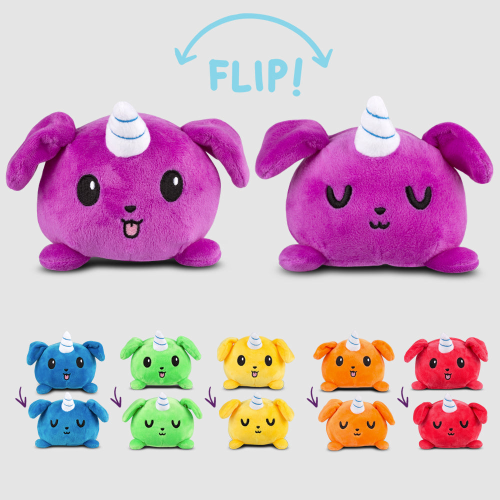 Reversible Puppicorn Mini Plushie TeeTurtle