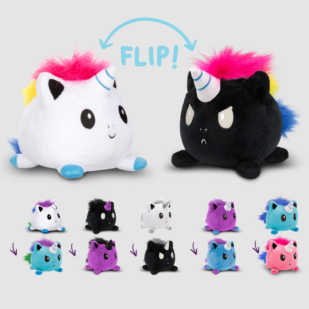 Reversible Unicorn Mini Plushies TeeTurtle Minis