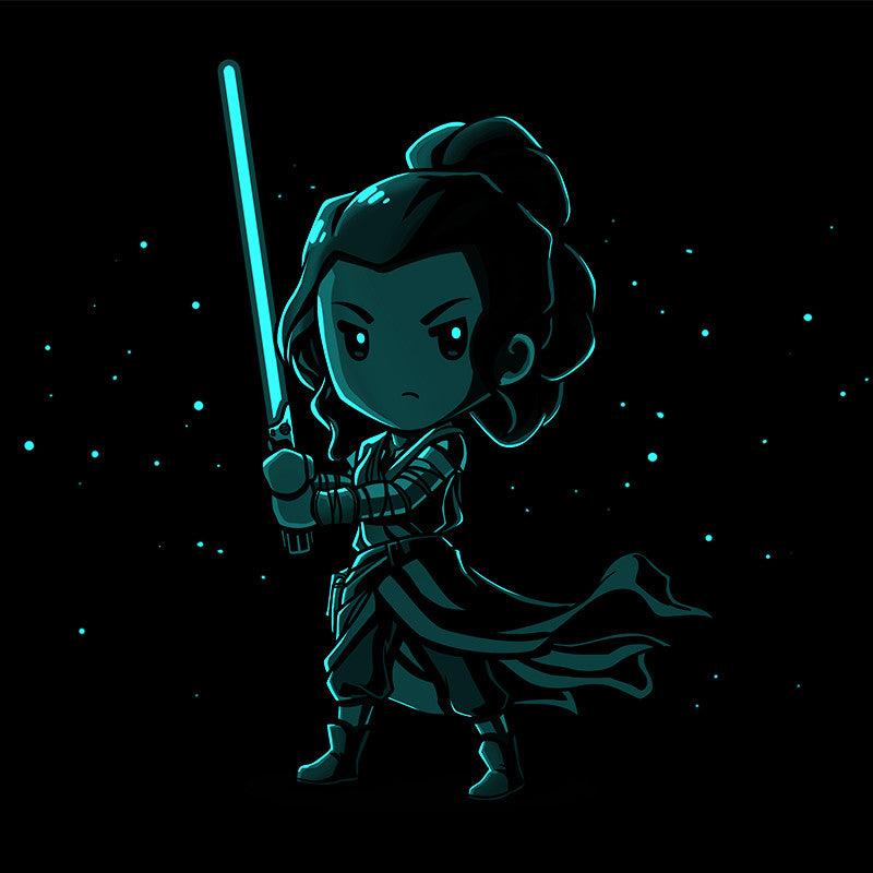 Lightsaber Glow (Rey) t-shirt Star Wars TeeTurtle