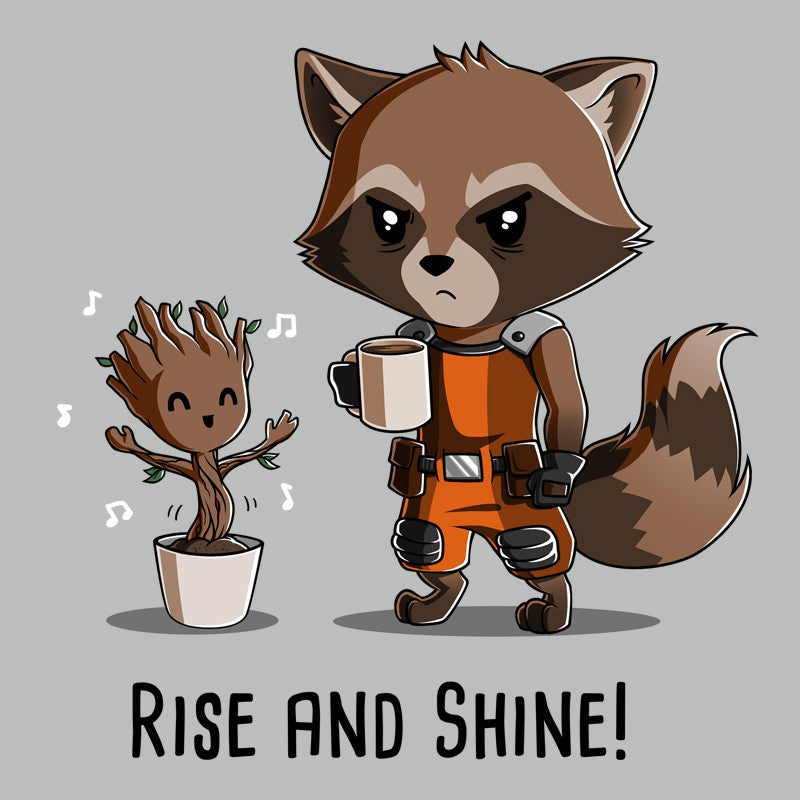 Rise and Shine! t-shirt Marvel TeeTurtle