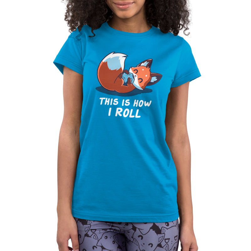 Roll the Dice Juniors T-Shirt Model TeeTurtle