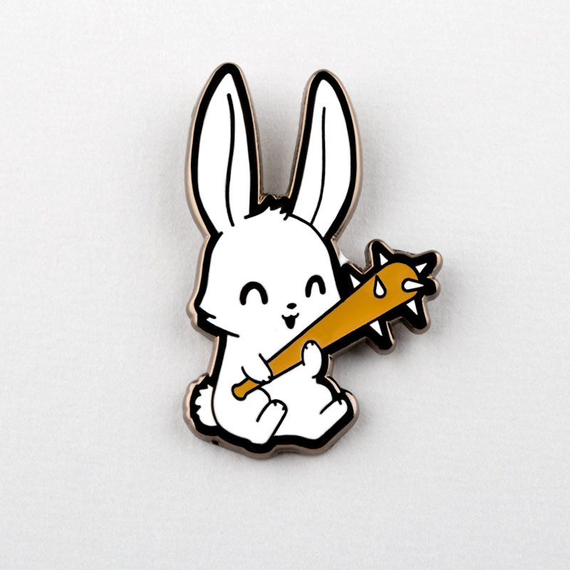 Savage Bunny Pin TeeTurtle