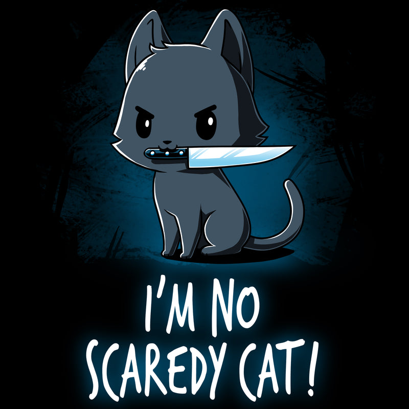 Scaredy Cat T-Shirt TeeTurtle