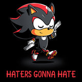 Shadow Haters t-shirt Sonic the Hedgehog TeeTurtle