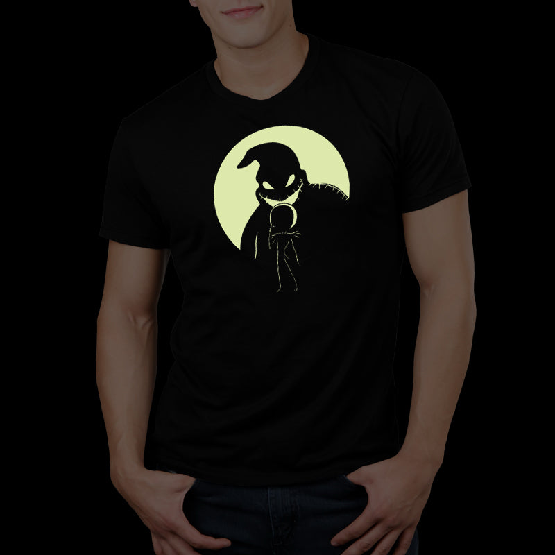 Shadow on the Moon Standard T-Shirt Model The Nightmare Before Christmas TeeTurtle