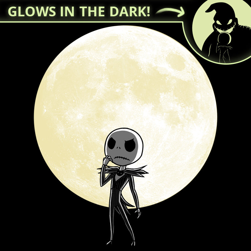 Shadow on the Moon T-Shirt The Nightmare Before Christmas TeeTurtle