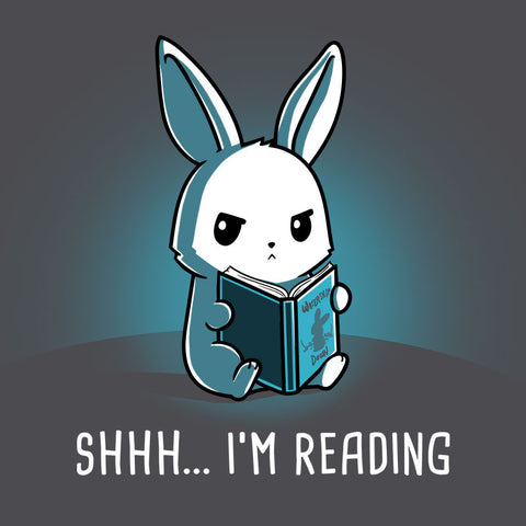 Shhh... I'm Reading T-Shirt TeeTurtle