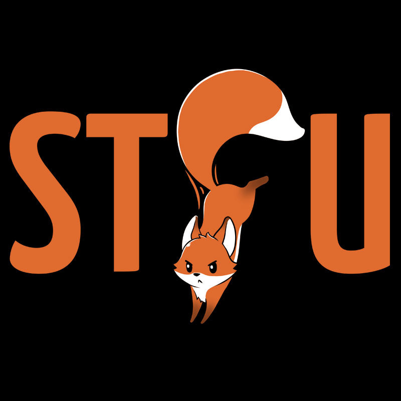 Shut the Fox Up T-Shirt TeeTurtle