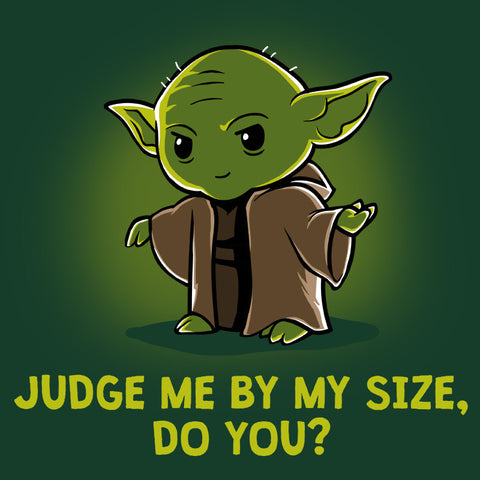 Size Matters Not T-Shirt Star Wars TeeTurtle