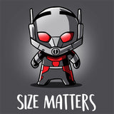 Size Matters T-Shirt Marvel TeeTurtle