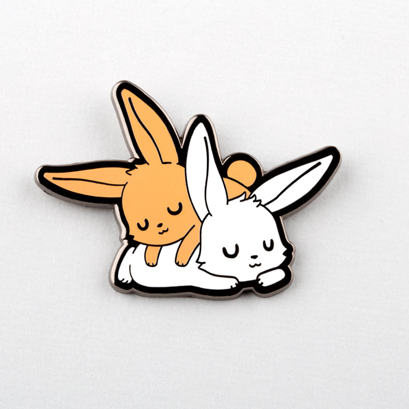 Sleepy Bunnies Pin TeeTurtle