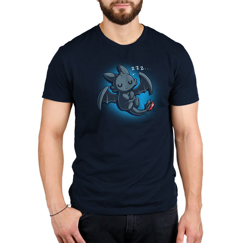 Sleepy Toothless Men's T-Shirt Model How To Train Your Dragon TeeTurtle