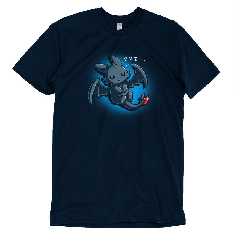 Sleepy Toothless T-Shirt How To Train Your Dragon TeeTurtle