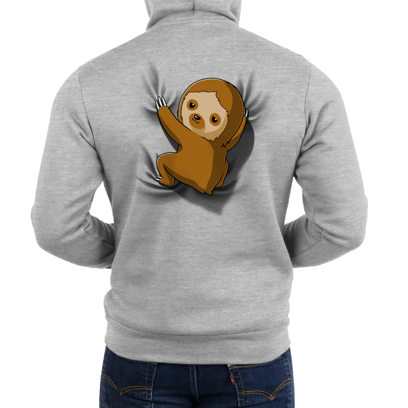 Sloth On Your Back Hoodie