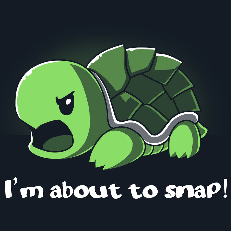 Snapping Turtle T-Shirt TeeTurtle