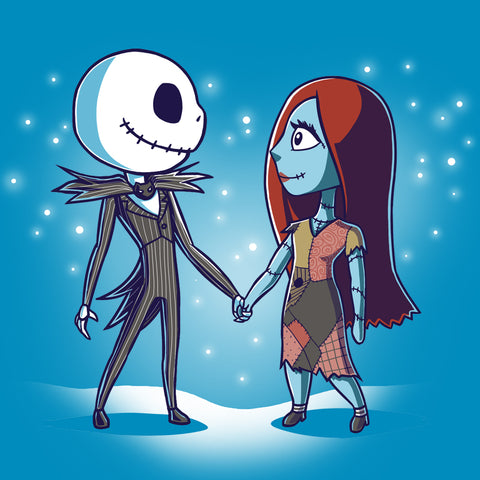 Together Forever T-Shirt The Nightmare Before Christmas TeeTurtle