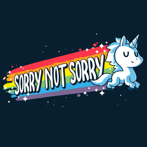 Sorry Not Sorry T-Shirt TeeTurtle