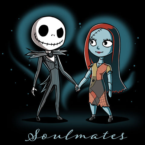 Soulmates T-Shirt Disney The Nightmare Before Christmas TeeTurtle