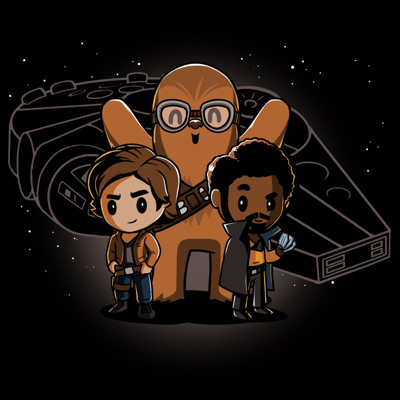 Space Smugglers T-Shirt Star Wars TeeTurtle