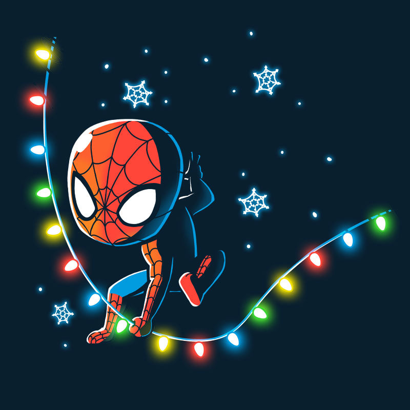 A Spider-Man Christmas T-Shirt Marvel TeeTurtle