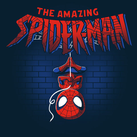 Spider-Man Shirt T-Shirt Marvel TeeTurtle