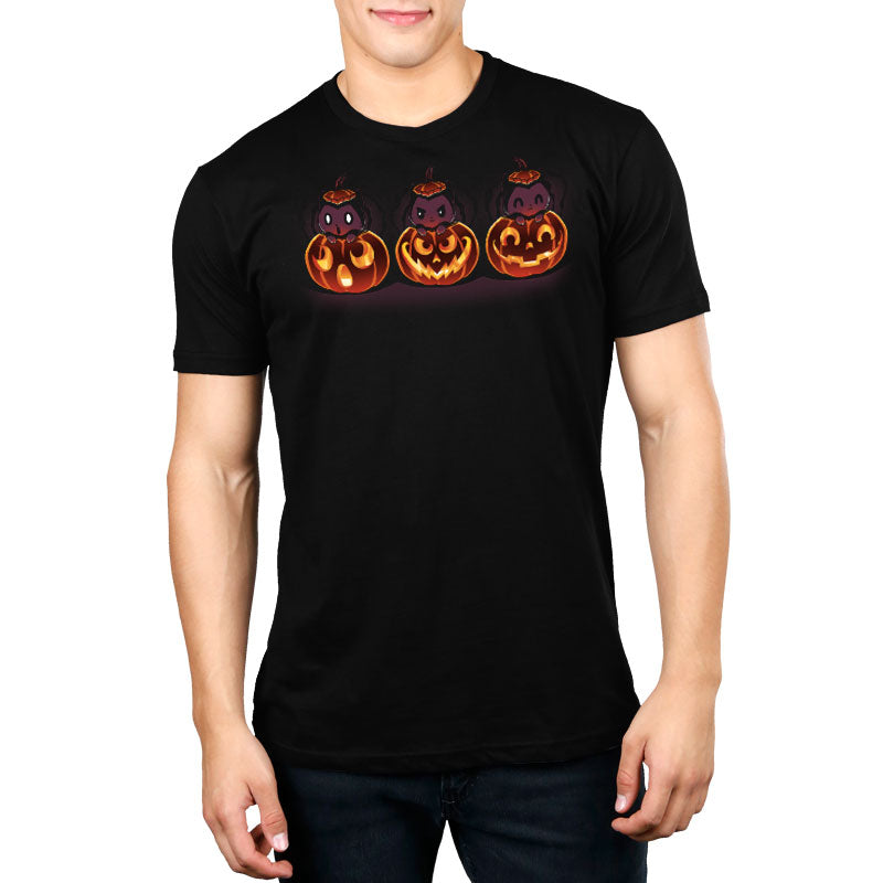 Spooky Faces Standard T-Shirt Model TeeTurtle