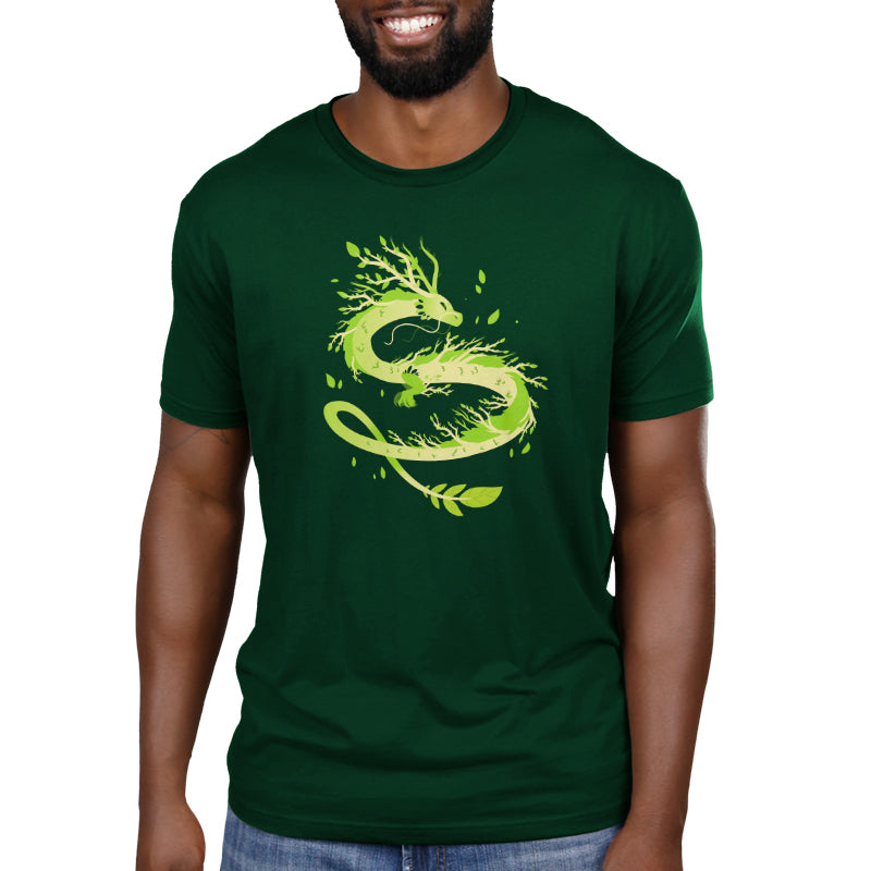 Spring Dragon Standard T-Shirt Model TeeTurtle