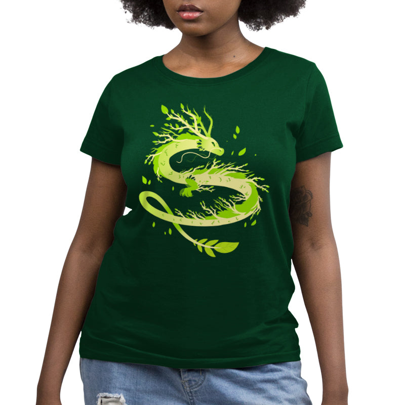 Spring Dragon Women's Relaxed T-Shirt Model TeeTurtle