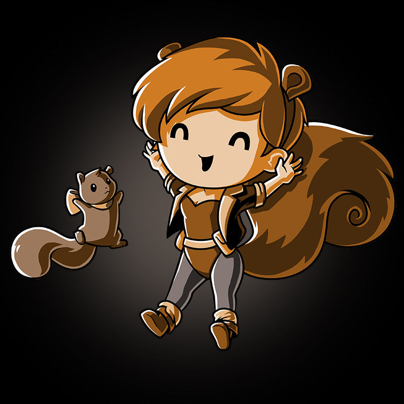 Yay! Squirrel Girl! T-Shirt Marvel TeeTurtle