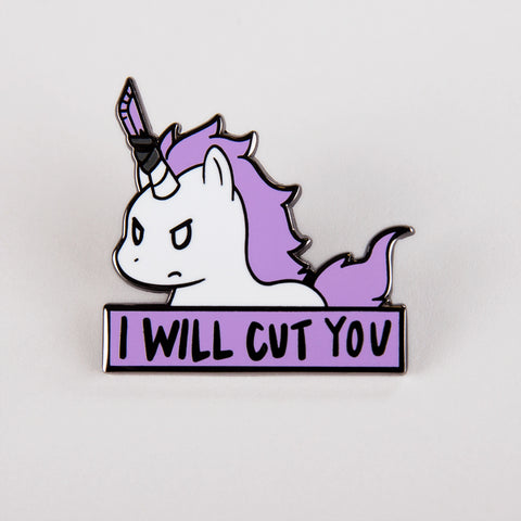 Stabby the Unicorn Pin