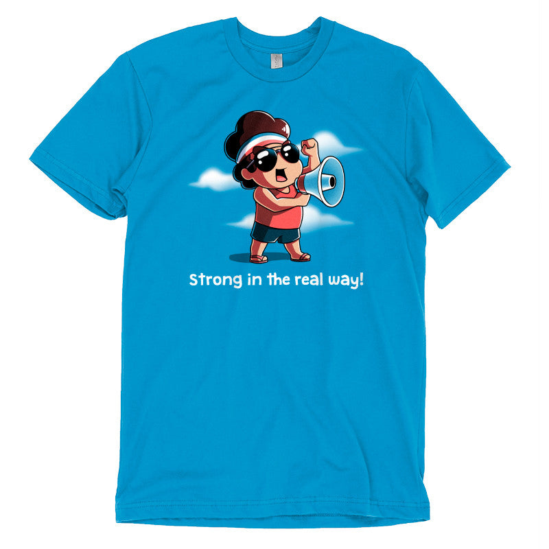 Strong in the Real Way t-shirt Steven Universe TeeTurtle