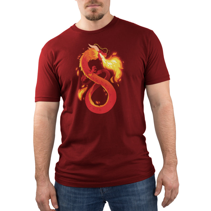 Summer Dragon Men's T-Shirt Model TeeTurtle