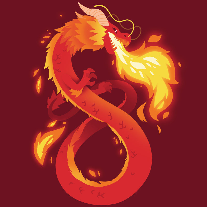 Summer Dragon T-Shirt TeeTurtle