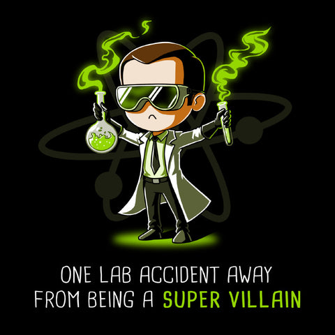 Super Villain t-shirt The Big Bang Theory TeeTurtle