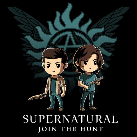 Supernatural T-Shirt Supernatural TeeTurtle