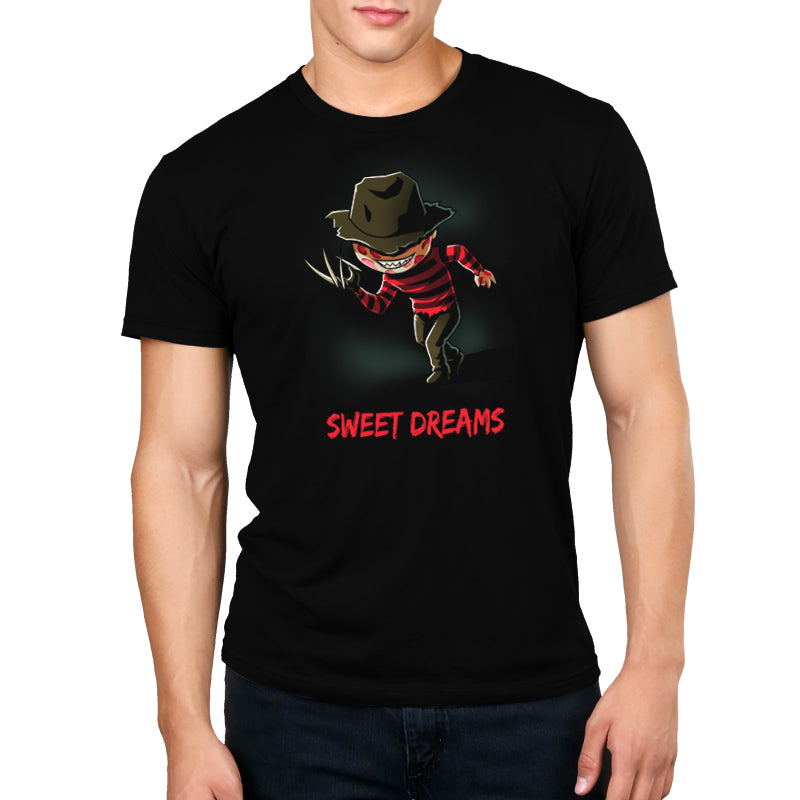 Sweet Dreams Standard Unisex t-shirt model Nightmare on Elm Street TeeTurtle